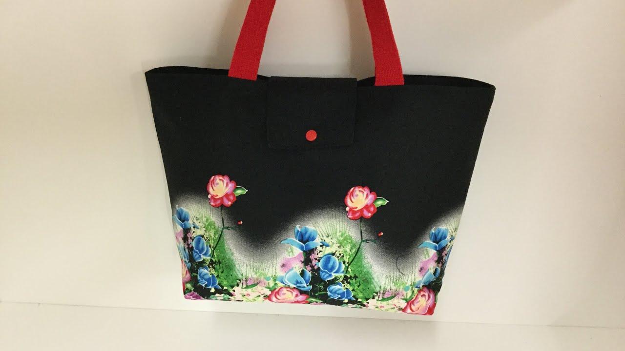 Coudre un petit sac Cabas Tuto Couture Madalena