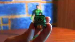 ������� ������� ������. Green Lantern Movie Masters Hal Jordan with BZZO ring. Mattel