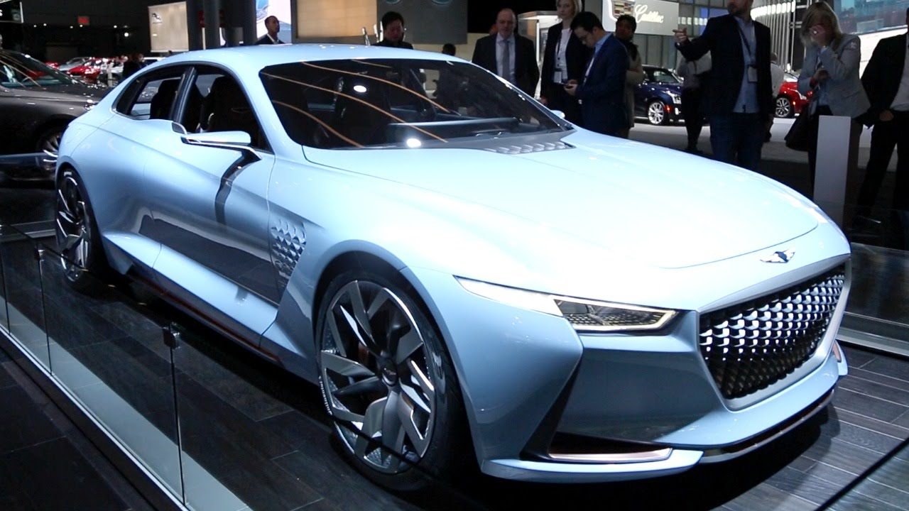 Genesis New York Concept 2016 New York Auto Show Youtube