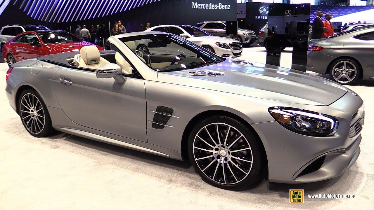 2017 Mercedes Sl Cl Sl550 Roadster Exterior And Interior Walkaround 2016 Chicago Auto Show