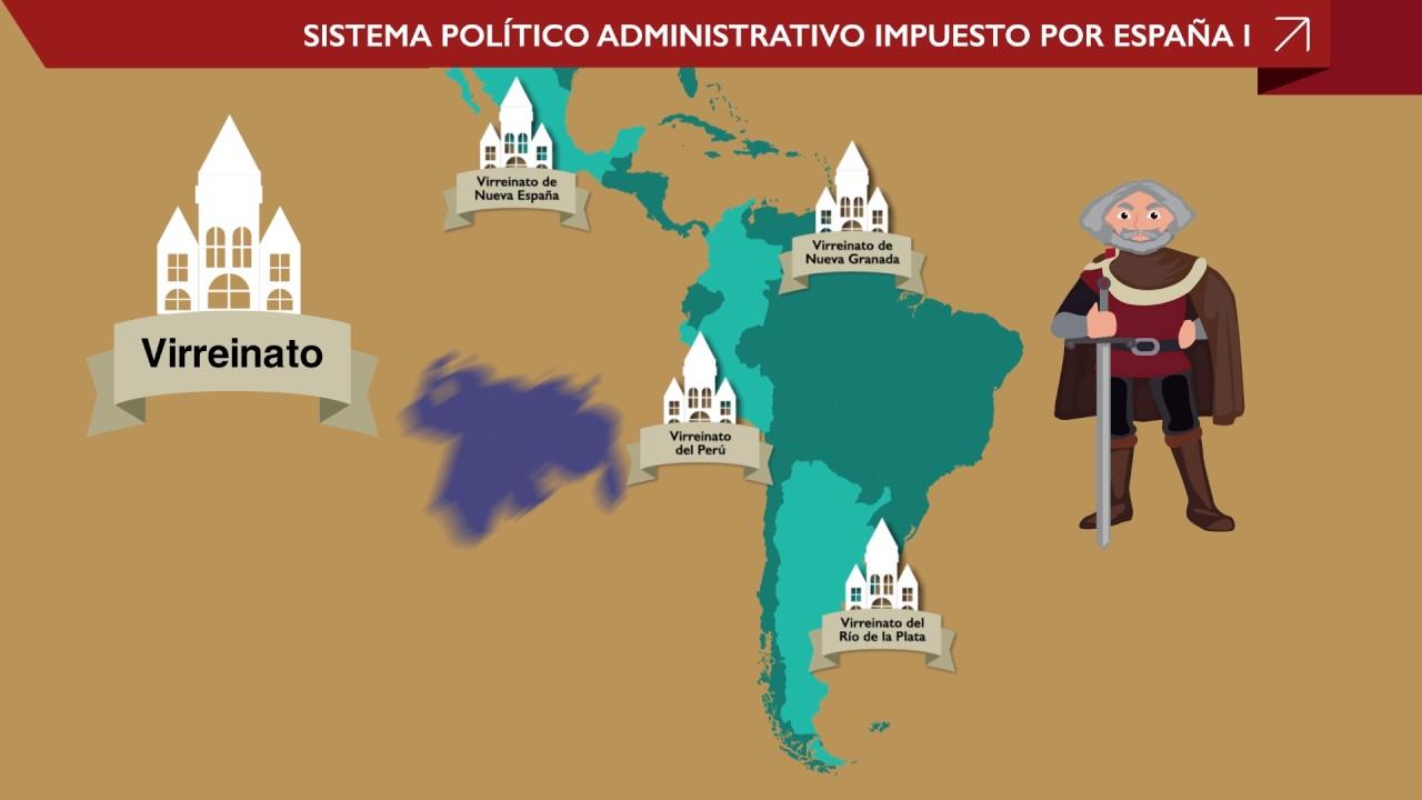 Curso De Historia De Venezuela 1er Año Tutorial Nº11 Estructura Política De La época Colonial P1