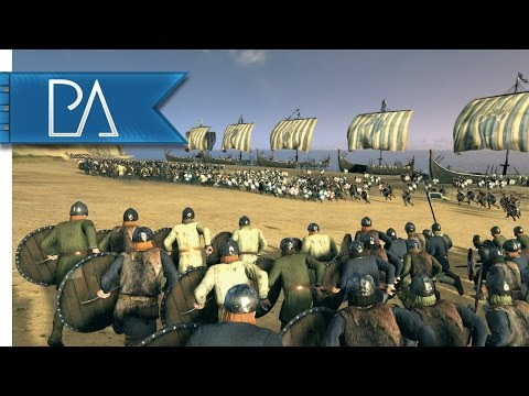 Epic Viking Siege: Pathway to Valhalla - Age of Vikings Total War Mod Gameplay