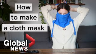 Coronavirus outbreak: How to make your own face mask based on CDC guidelines