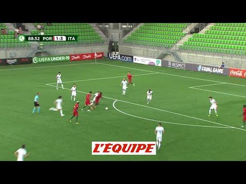 Les buts de Portugal-Italie - Foot - Euro U19