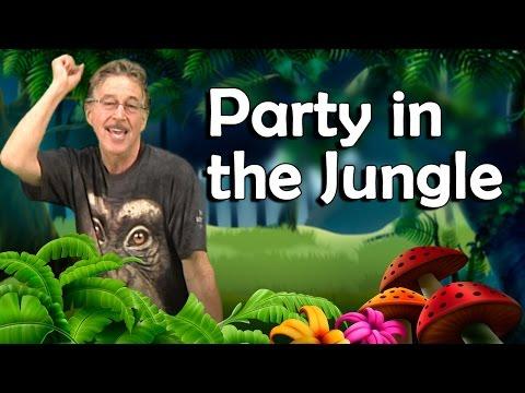 Party In The Jungle | Fun Phonemic Awareness Song | Jack Hartmann
