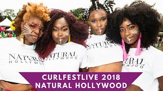 CURLFEST Live 2018: Natural Hollywood Debuts Crochet Curls