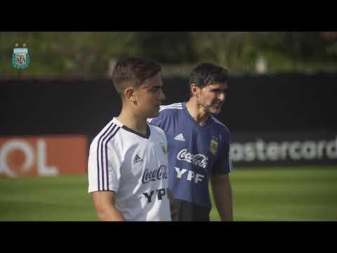 #SelecciónMayor Primer entrenamiento de cara a los cuartos de final. ¡Vamos Argentina!