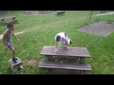 Parkour ITA|Allenamento al parco ~Kings Parkour~