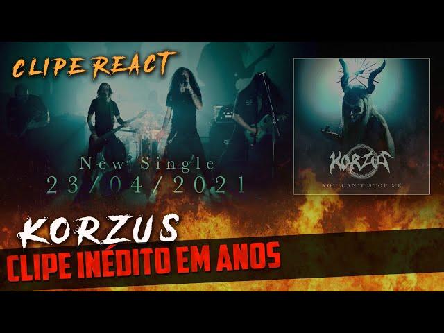 O KORZUS VOLTOU! | Single You Can't Stop Me [Clipe React]