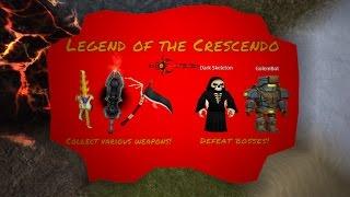 Roblox Legend of the Crescendo RPG: all secrets