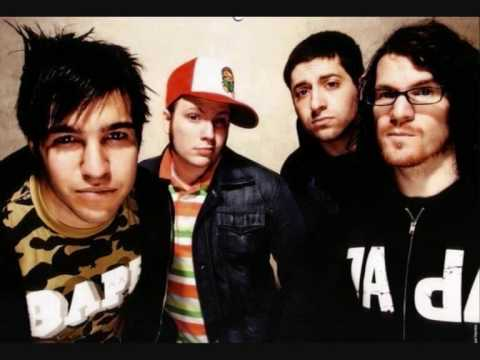Fall Out Boy- Grand Theft Autumn (acoustic) Studio Version!!!
