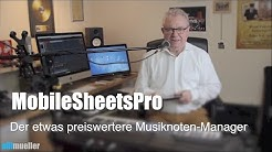 MobileSheetsPro - preiswerter Musiknoten-Manager (Android)