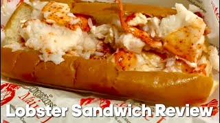 Lobster Sandwich Review - Cousins Maine Lobster Food Truck - Hook & Anchor in Newport Beach