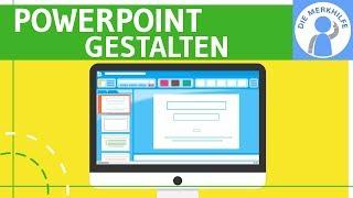 Präsentieren mit PowerPoint - 5 Tipps - Erstellung & Gestaltung Referate