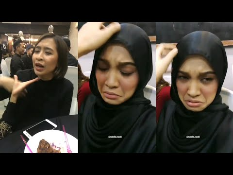 Nabila Razali & Ara Johari buat parody awek manja nak cendol