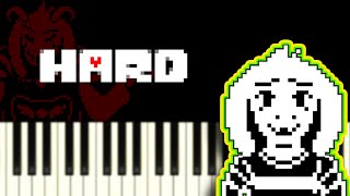 His Theme (from Undertale) - Piano Tutorial
