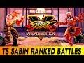 [SFV: AE] TS Sabin Dhalsim Ranked Battles - [ 1080p/60fps ]