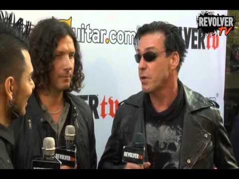 Rammstein - Interview USA Revolver TV, 20.4.2011
