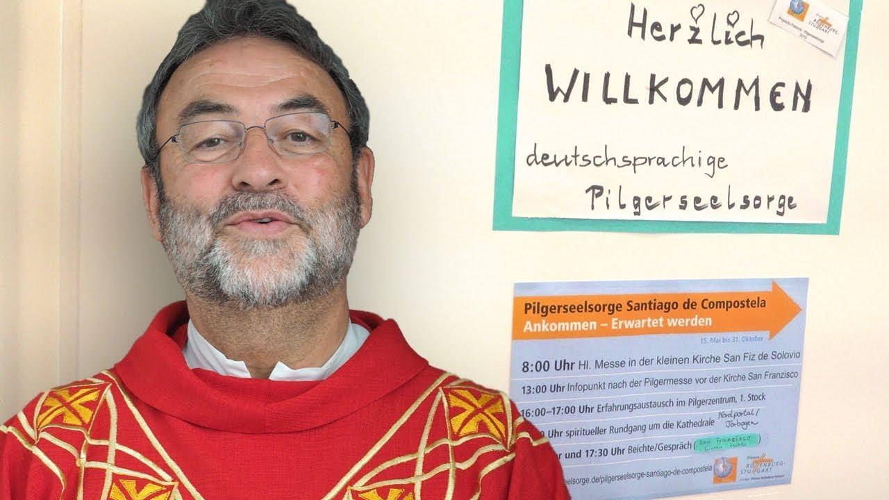 10 Jahre deutschsprachige Pilgerseelsorge - Mitbegründer Prälat Rudolf Hagmann im Interview