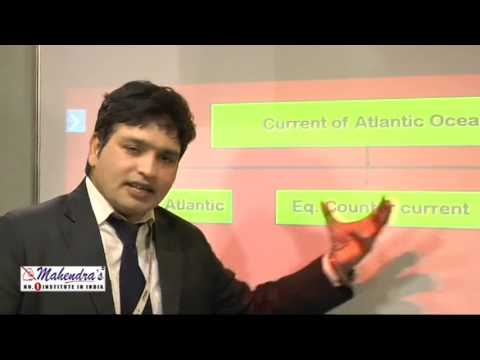 Basics of Ocean Circulation : Geography - Important For SSC CGL Exam