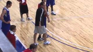Watch Bill Self Utilize the Shell Drill! - Basketball 2016 #20