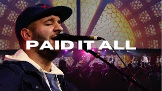 Justin Rizzo - Paid it All LIVE at Onething
