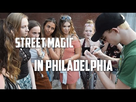 Amazing Street Magic in Philadelphia Ep. 3 (Car got Towed) | The Prophets Magic