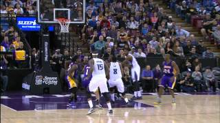 Rudy Gay Elevates in Traffic for the Monster Jam