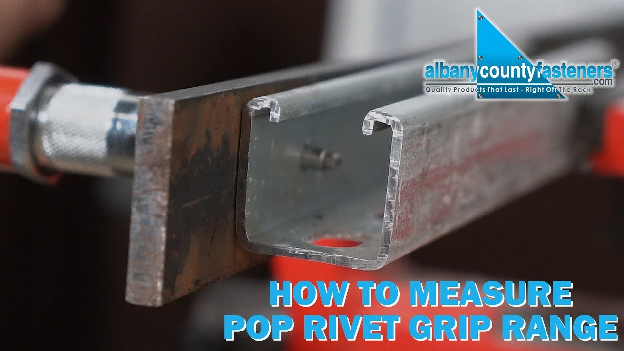 How to Measure Material Thickness For Rivet Installation | Rivets 101