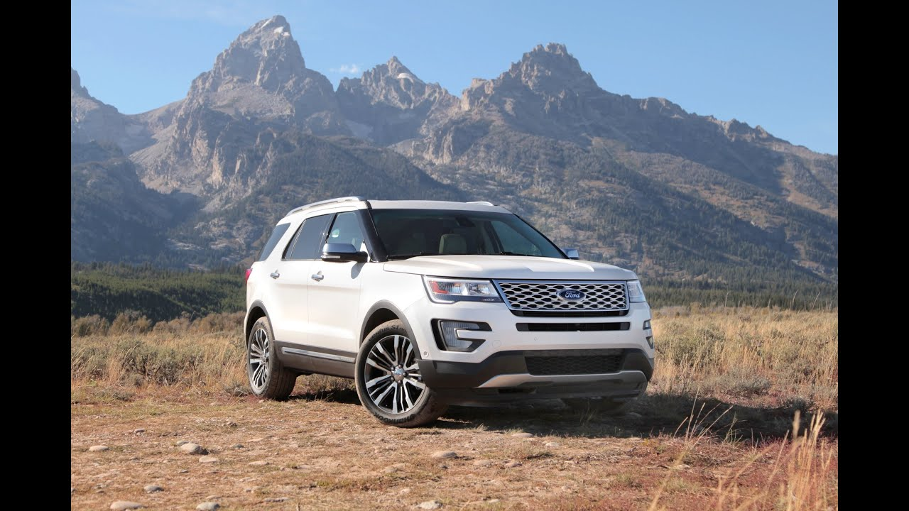 2016 ford explorer platinum review