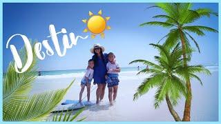 ☀️DESTIN, FLORIDA! | The Crab Trap 🦀 | Travel Vlog