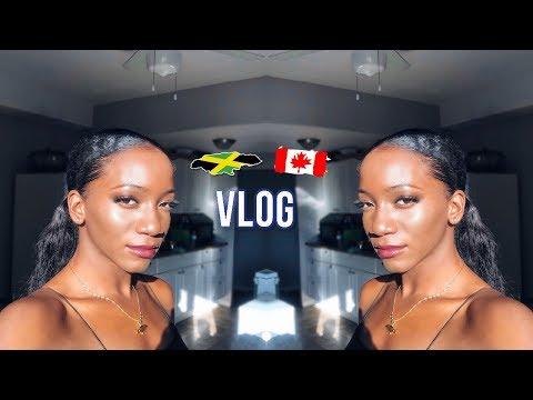 TORONTO VLOG: Leaving Jamaica + Kingston Airport + Graduation Prep | Annesha Adams