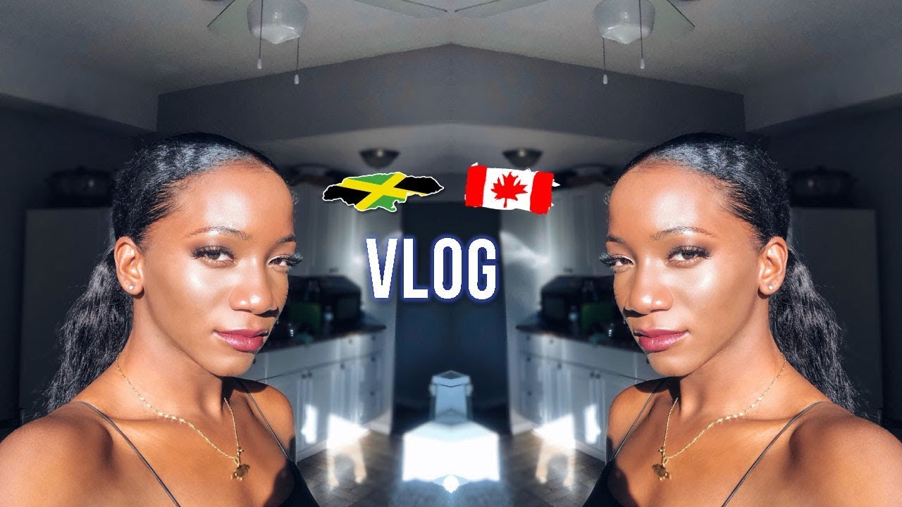 2019 TORONTO VLOG: Leaving Jamaica + Kingston Airport + Graduation Prep   Annesha Adams