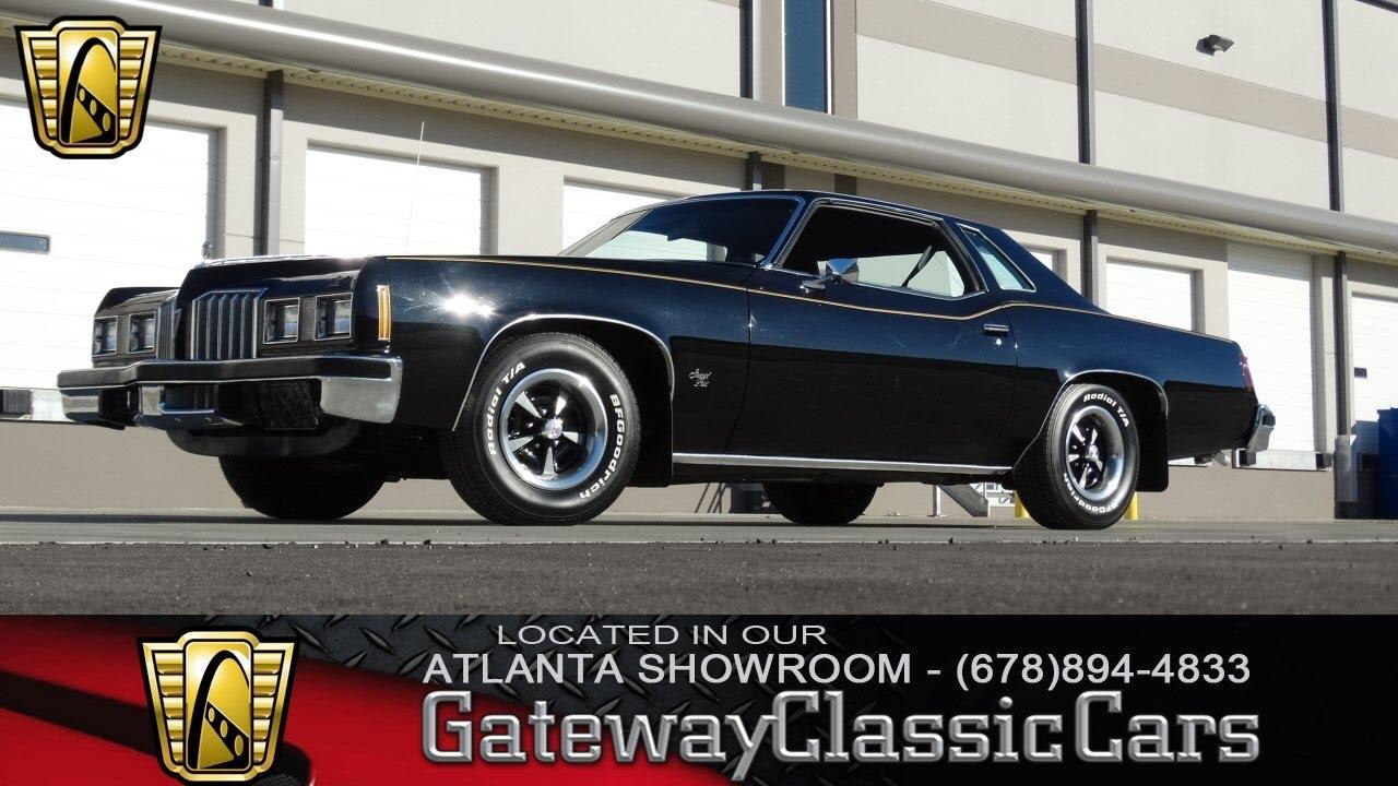 1977 Pontiac Grand Prix Gateway Classic Cars Of Atlanta 109 Youtube