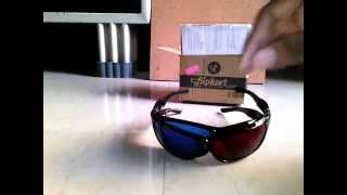 Real 3D Glasses: UnBoxing , First Look and Review