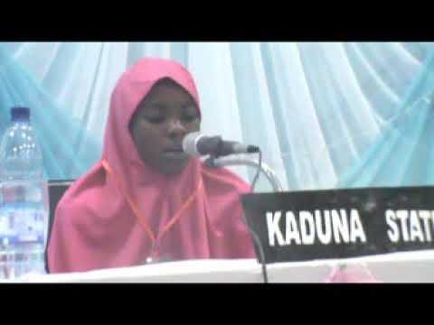Download 2019 Nigerian Musabaqa: 2 Hizb - Kaduna State Female Participant