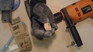 Making A Wood Carved Ring With Basic Tools