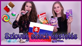 Szlovák édesség kóstolás Evelinnel | Viszkok Fruzsi