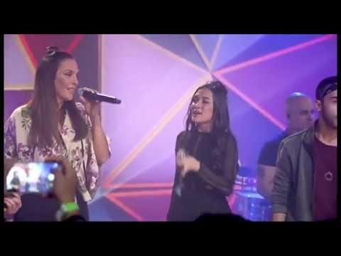 Ivete Sangalo e Banda Melim no Fantástico ao vivo