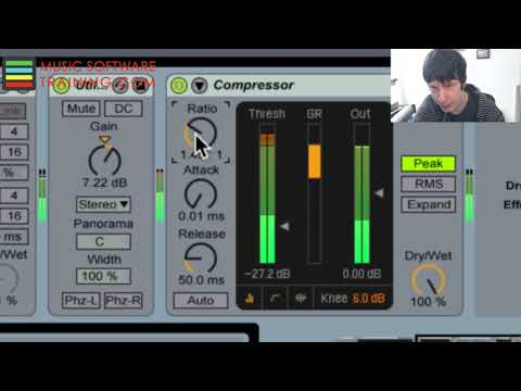 Audio Compression Explained: Attack, Decay, Release, Ratio
