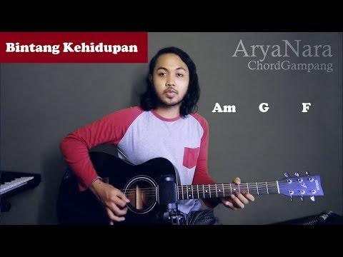 Chord Gampang (Bintang Kehidupan - Nike Ardila) By Arya Nara (Tutorial Gitar) Untuk Pemula