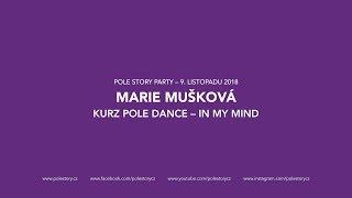 MARIE MUŠKOVÁ: KURZ POLE DANCE – FIREMAN