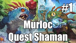 [Hearthstone] Murloc Quest Shaman (Part 1)