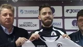 Daniel Sikorski a fost prezentat la Gaz Metan | novatv.ro