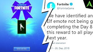 Despre Emote-ul *Take the Elf* din Fortnite.. (*BUGUIT*)