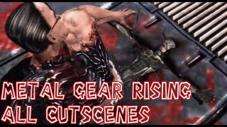 Metal Gear Rising Revengeance All Cutscenes Complete Movie【HD】
