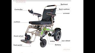 Инвалидная коляска с дистанционным управлением с Алиэкспресс