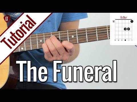 Band Of Horses - The Funeral | Gitarren Tutorial Deutsch