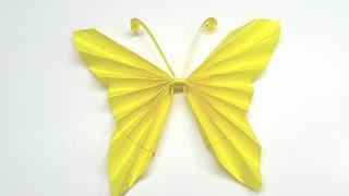 Origami Instructions - How to fold an Easy Origami paper butterfly