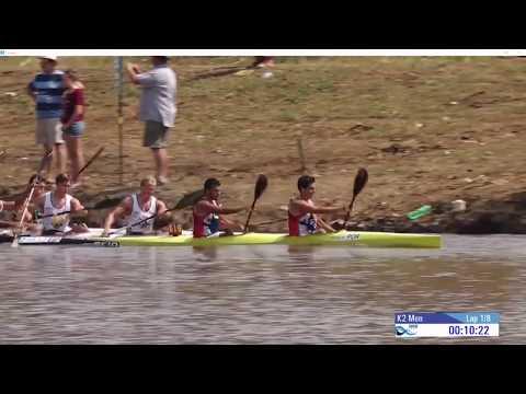 WC 2017 Canoe Marathon K2 Men - Pietermaritzburg (Southafrica)
